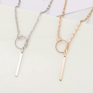 Karma Gold and Silver Necklace